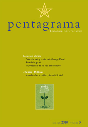 Portada de la revista Pentagrama nº 3 de 2010